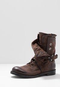 A.S.98 - SAMURAI - Lace-up boots - fondente - 5