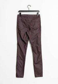Vila - Trousers - purple - 1