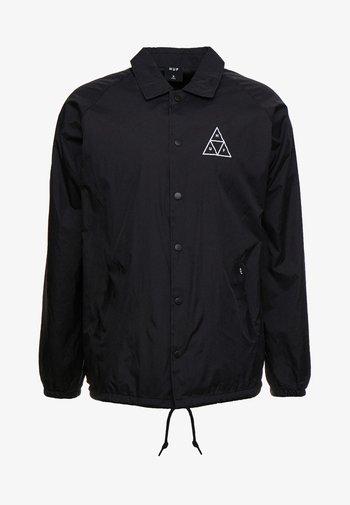 ESSENTIALS COACHES JACKET - Summer jacket - black