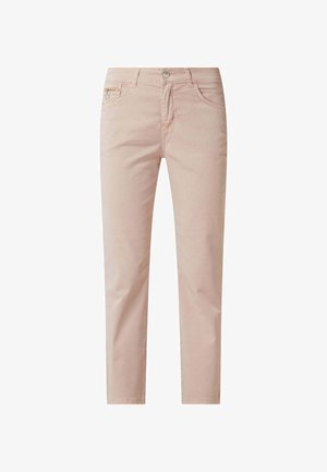 SLIM FIT IN 7/8-LÄNGE - Straight leg jeans - hellrosa