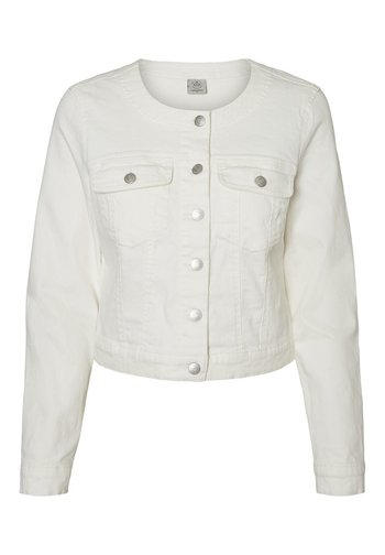 Denim jacket - snow white