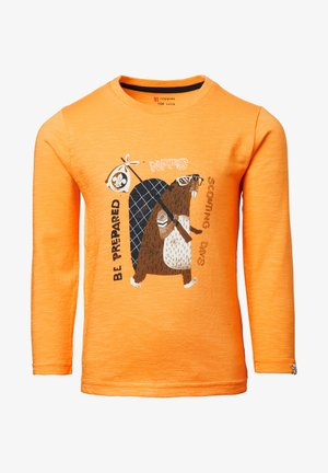 LELANDHILL - Long sleeved top - blazing orange