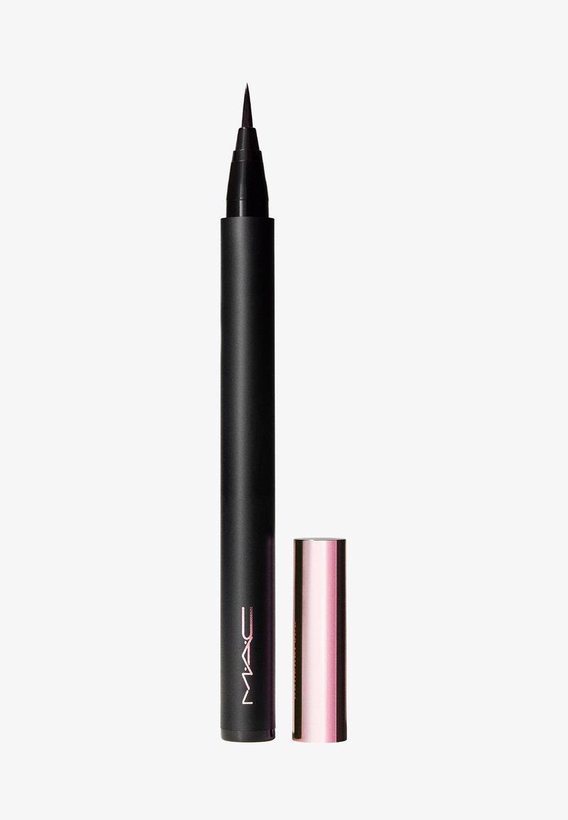 MAC - BLACK CHERRY BRUSHSTROKE LINER - Eyeliner - brushblack