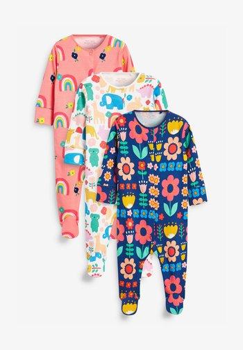 3 PACK - Sleep suit - dark blue