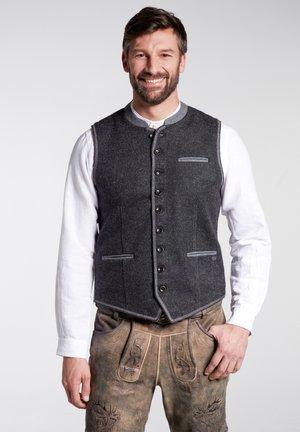 NOVUM - Waistcoat - grey