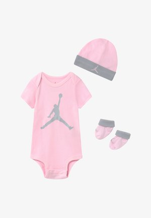 JUMPMAN BOOTIE SET - Jumpsuit - pink foam