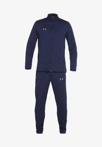 Under Armour - CHALLENGER KNIT WARM-UP - Tracksuit - midnight navy/graphite - 7