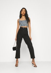 Missguided - CORSET - Top - blue - 1