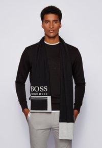 BOSS - ALBO - Scarf - black - 1