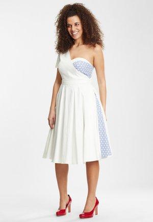 NIA  - Korte jurk - blue