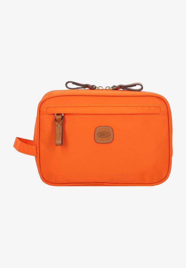 Wash bag - orange