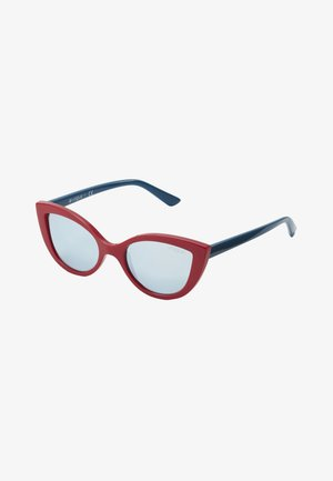 SUN - Sunglasses - red/blue