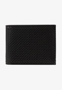 Burton Menswear London - DIAMOND EMBOSS WALLET - Wallet - black - 1
