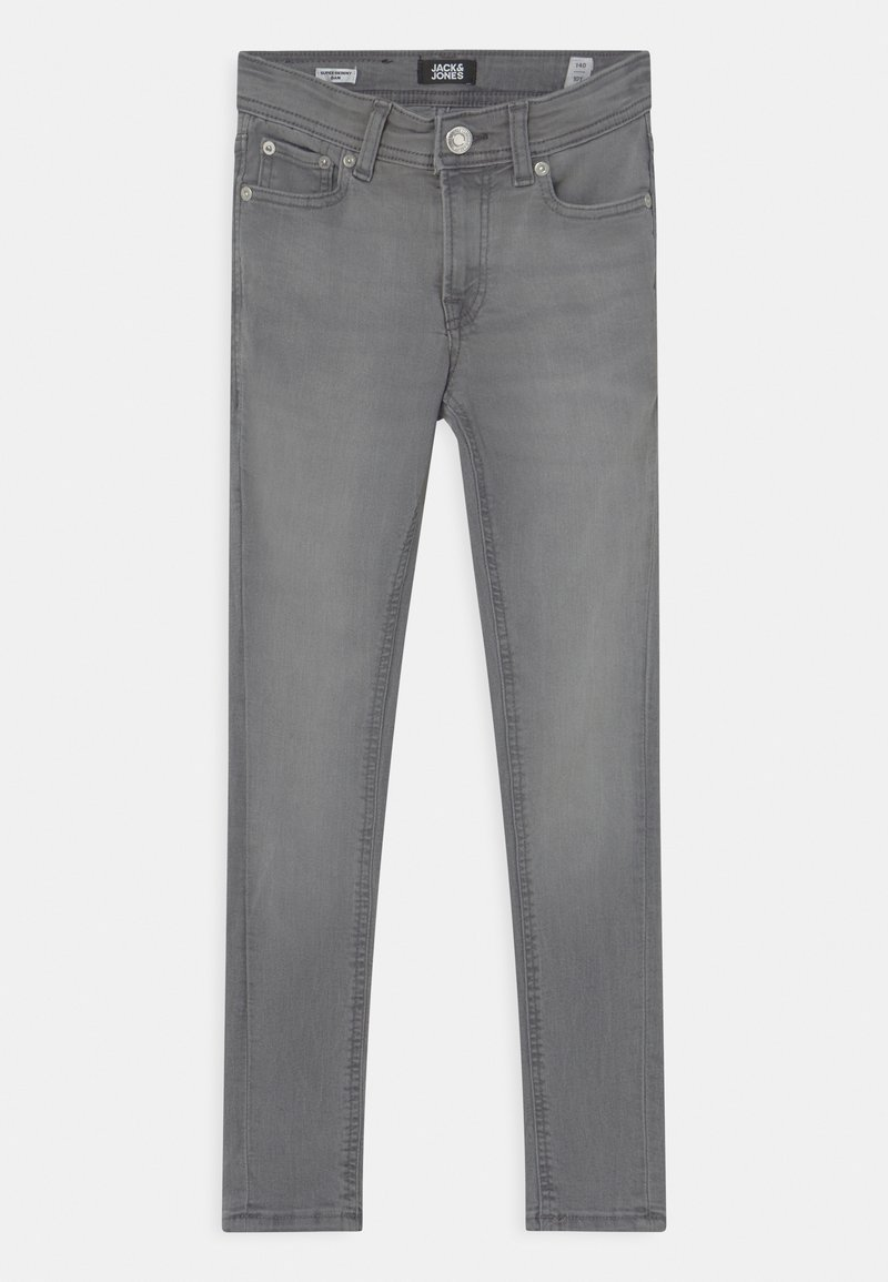 Jack & Jones Junior - JJIDAN JJORIGINAL  - Jeans Skinny Fit - grey denim