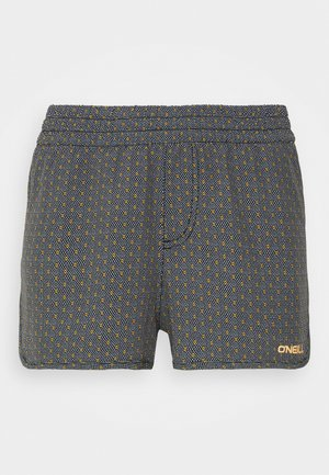 BOARD  - Swimming shorts - black/yellow