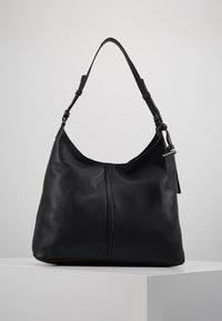 Zign - LEATHER - Handtasche - black - 0