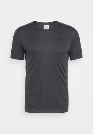 TECH TEE - Print T-shirt - ash grey