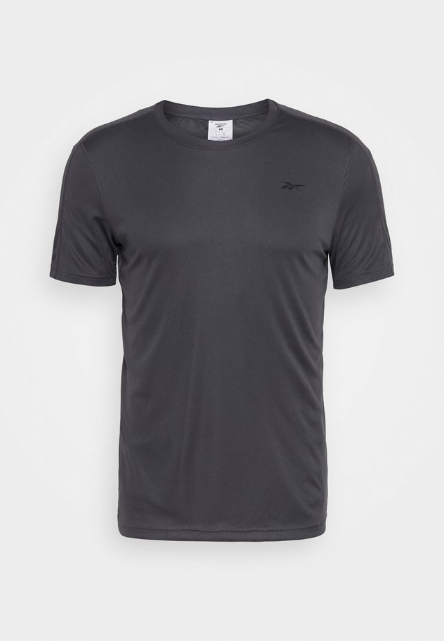 TECH TEE - Print T-shirt - ash grey