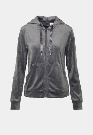 CECILIA HOODIE - Pyjama top - dark grey
