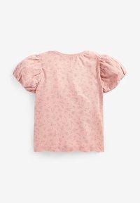 Next - APPLIQUÉ SLOGAN - Print T-shirt - pink - 1