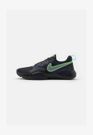 SPEEDREP - Sports shoes - black/ashen slate/blackened blue/blue fury/electric green