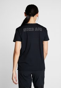 Nike Performance - AIR TOP - Triko spotiskem - black - 2