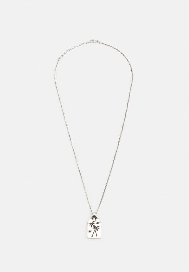 SURF AND PALMTREES UNISEX - Ketting - silver-coloured
