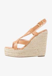 RAID - ROCIO - High heeled sandals - dark coral - 1