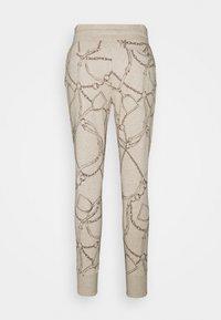 Lauren Ralph Lauren - COZETT - Tracksuit bottoms - farro heather - 1