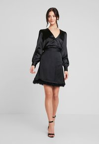 Nly by Nelly - EYE CATCHER BLOUSE - Bluser - black - 1