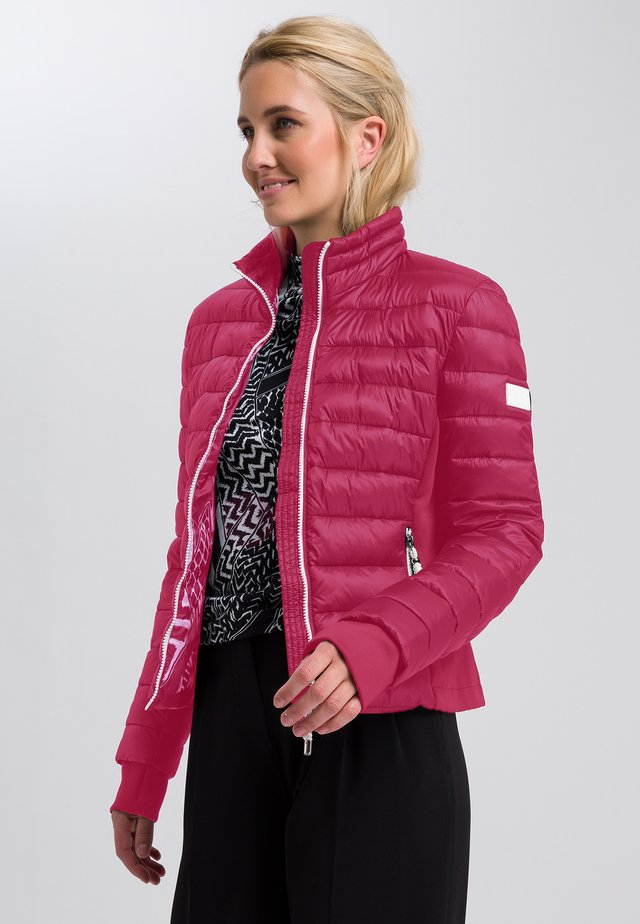 Light jacket - raspberry