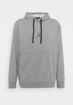 AIR HOODIE - Sweatshirts - carbon heather/black