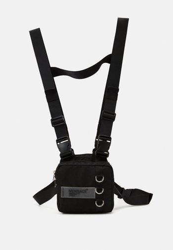 CHEST UTILITY HARNESS - Bum bag - black