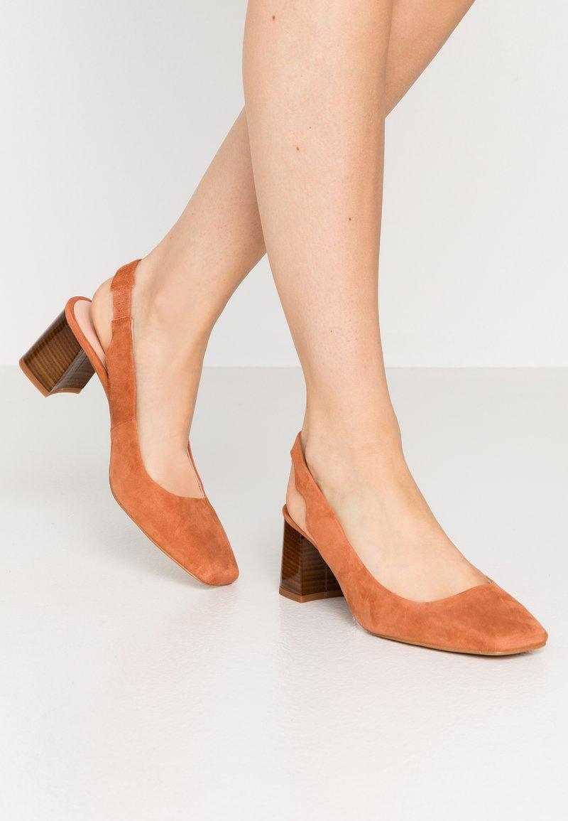 Zign - Classic heels - orange