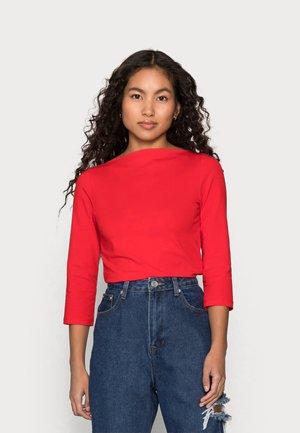 ONLLIVE LOVE BOATNECK - Long sleeved top - high risk red