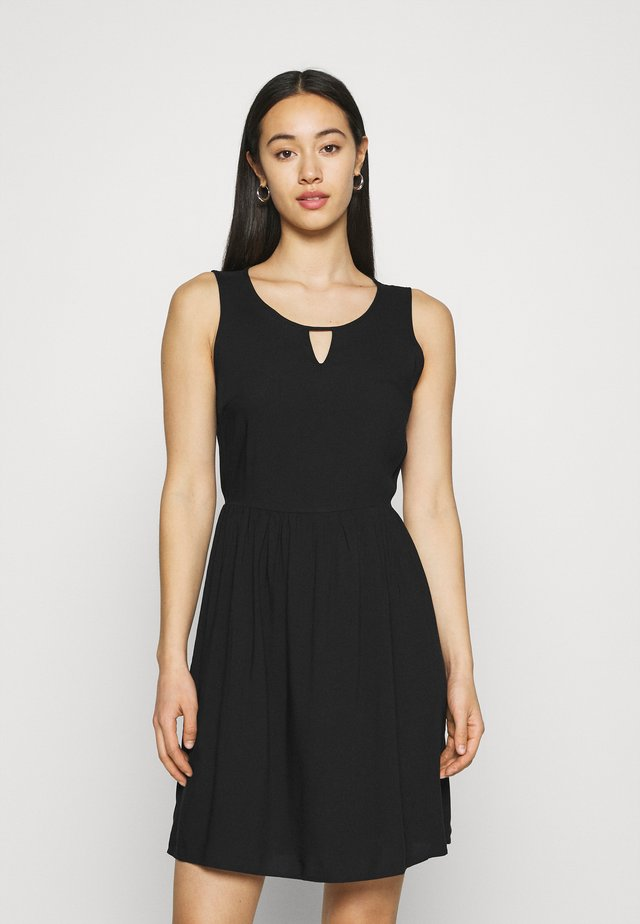 VMSIMPLY EASY SHORT DRESS - Sukienka letnia - black