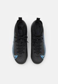Nike Performance - MERCURIAL JR 8 PRO FG UNISEX - Kopačky lisovky - black/iron grey - 3