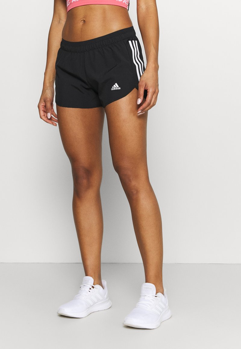 adidas Performance - RUN IT SHORT - Krótkie spodenki sportowe - black/white