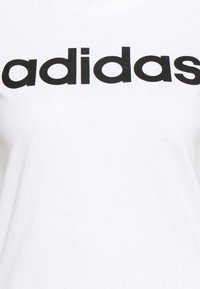 adidas Performance - Print T-shirt - white/black - 6