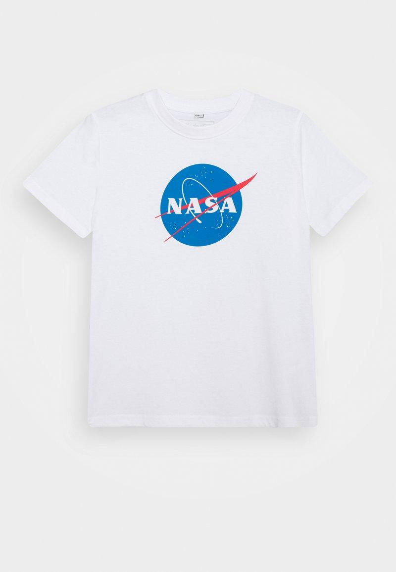 Mister Tee - KIDS NASA INSIGNIA TEE - Print T-shirt - white