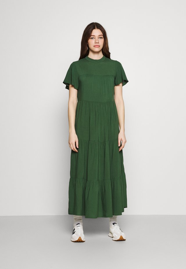 Maxi-jurk - emerald green