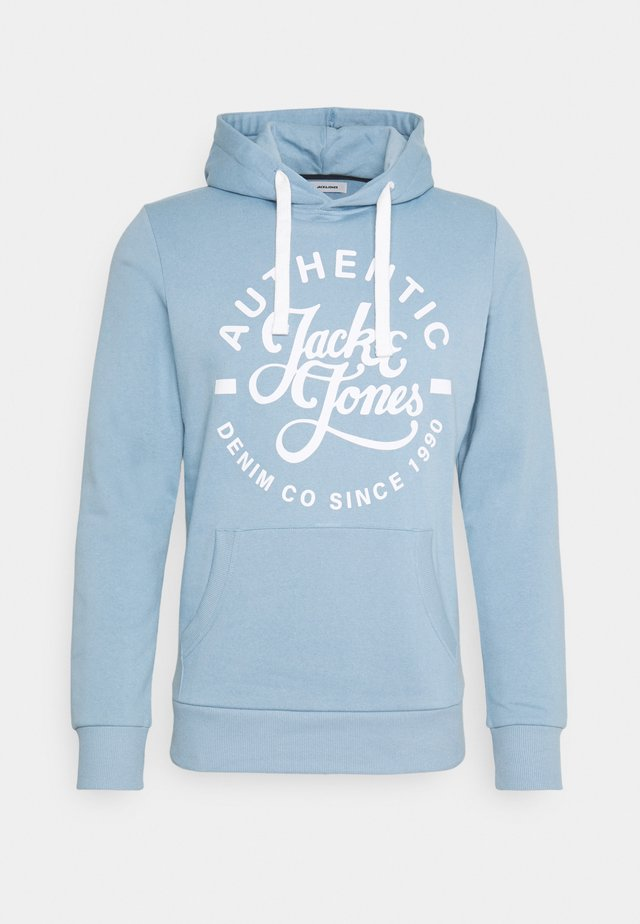 JJHEROS HOOD - Jersey con capucha - faded denim