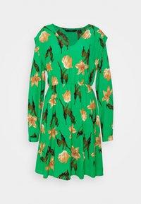 VMBETTY DRESS - Day dress - greenbriar/betty