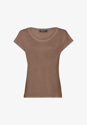 WEIT GESCHNITTENES - T-shirt basique - cappuccino