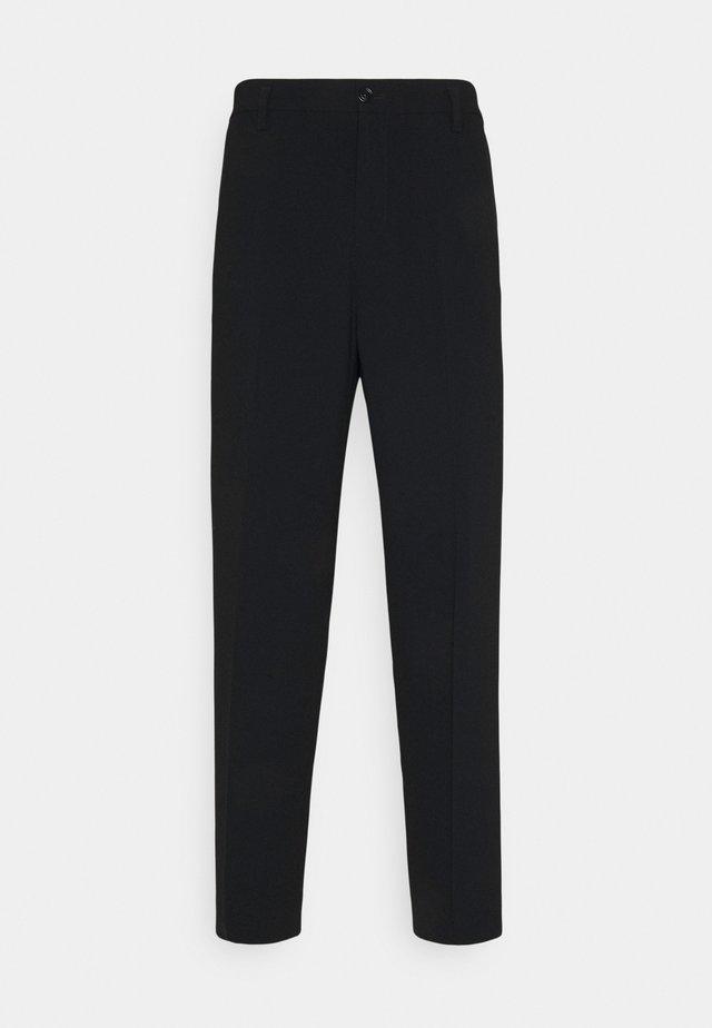 MATEO TROUSER - Kalhoty - black