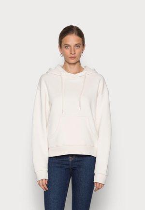 LOLA HOOD - Felpa - light white