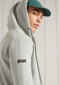 Superdry - Zip-up hoodie - grey - 2