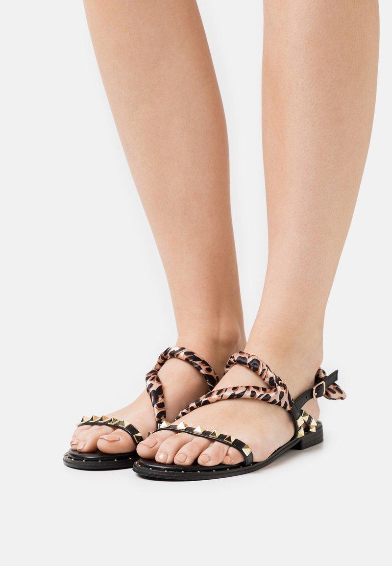 KHARISMA - Sandals - soft nero
