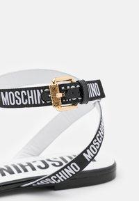MOSCHINO - Sandals - nero - 6