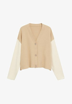 SPLASH - Cardigan - sand